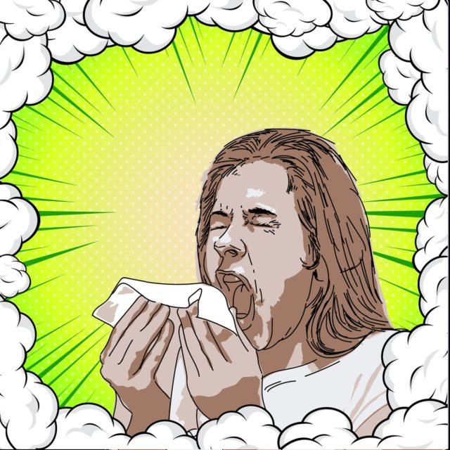 【花粉症・風邪】鼻づまりで寝れない悩みの解消方法
