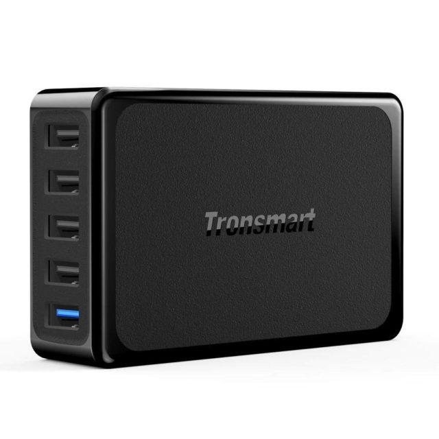 USB充電器5ポートオススメ「Tronsmart PD」※追記:在庫切れ新商品紹介