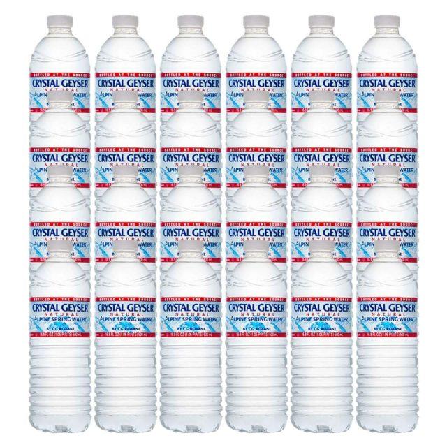 クリスタルガイザーをAmazonで購入してみて、ネットで水を買う事の便利さに驚いた