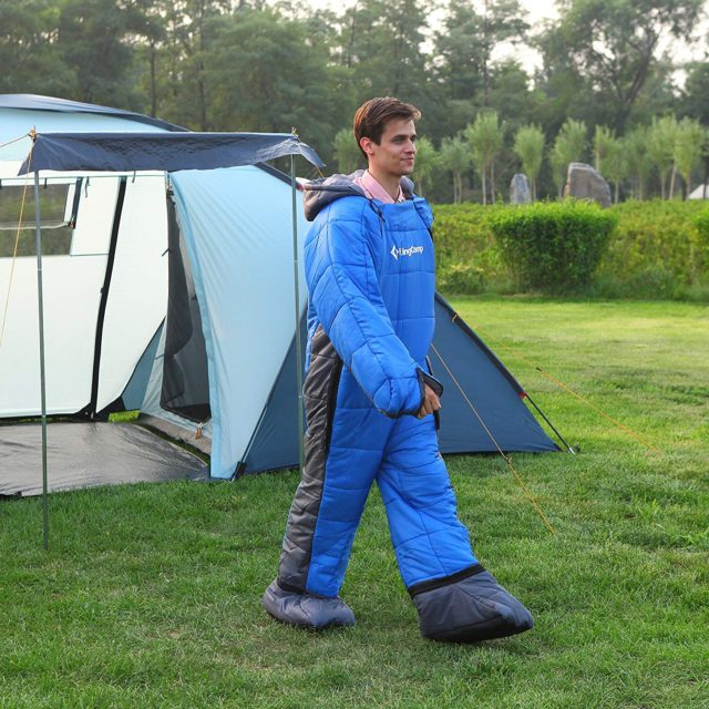 歩ける寝袋が安い!得られるメリットとAmazonがオススメな理由とは?
